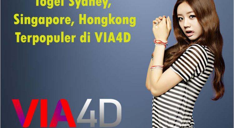 Togel Sydney, Singapore, Hongkong Terpopuler di VIA4D