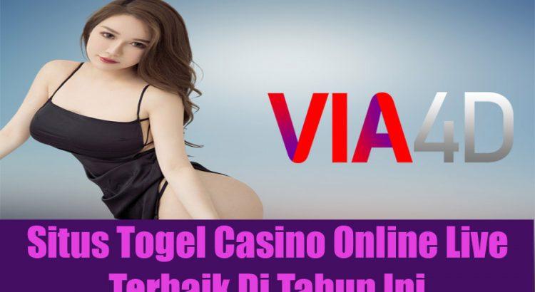 Situs Togel Casino Online Live Terbaik Di Tahun Ini