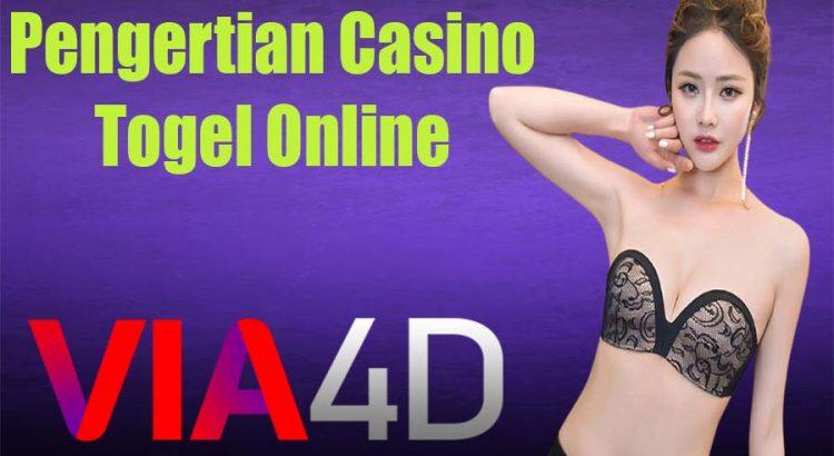 Pengertian Casino Togel Online